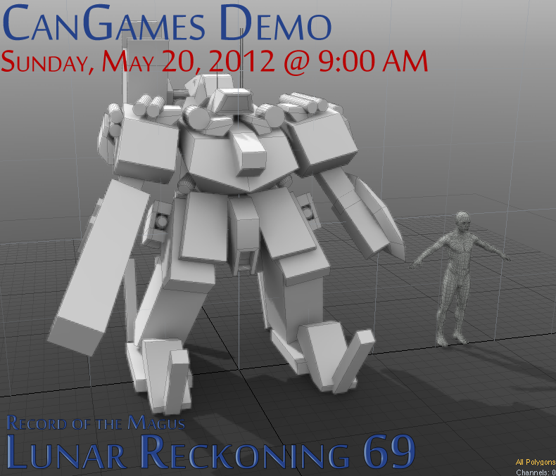 CanGames Demo - Sunday, May 20, 2012
